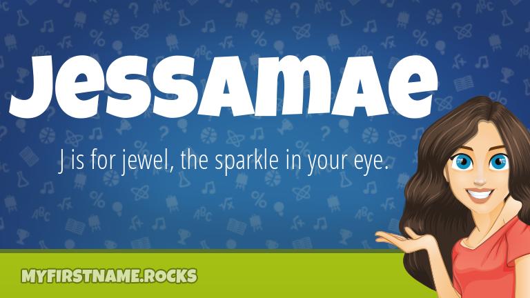 My First Name Jessamae Rocks!