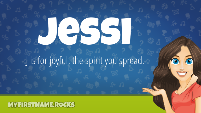 My First Name Jessi Rocks!