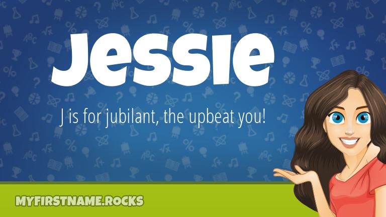 My First Name Jessie Rocks!