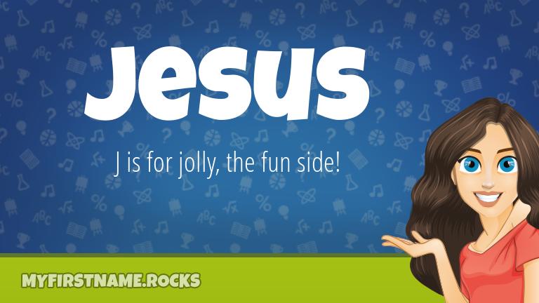 My First Name Jesus Rocks!