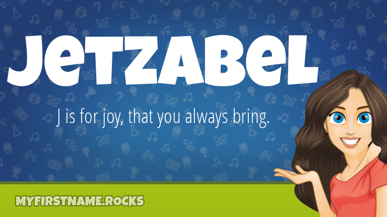 My First Name Jetzabel Rocks!