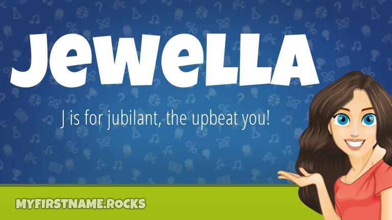 My First Name Jewella Rocks!