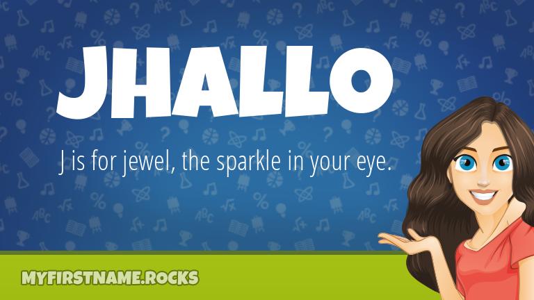 My First Name Jhallo Rocks!