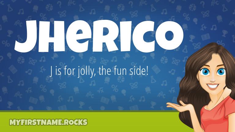 My First Name Jherico Rocks!