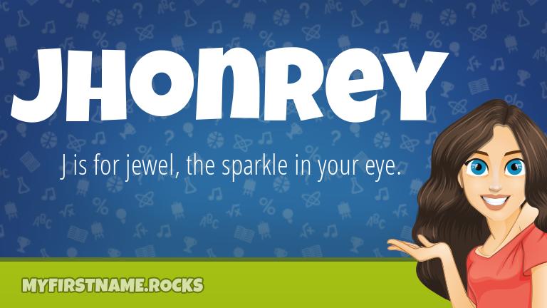 My First Name Jhonrey Rocks!