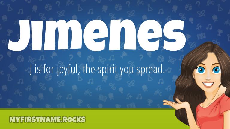My First Name Jimenes Rocks!