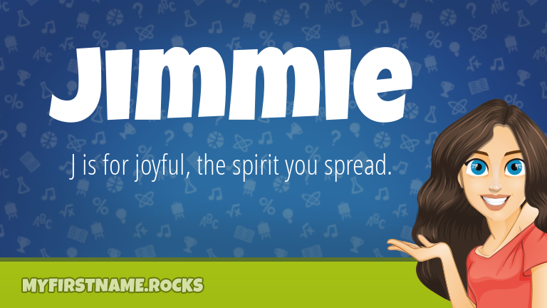 My First Name Jimmie Rocks!