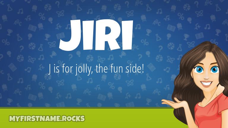 My First Name Jiri Rocks!