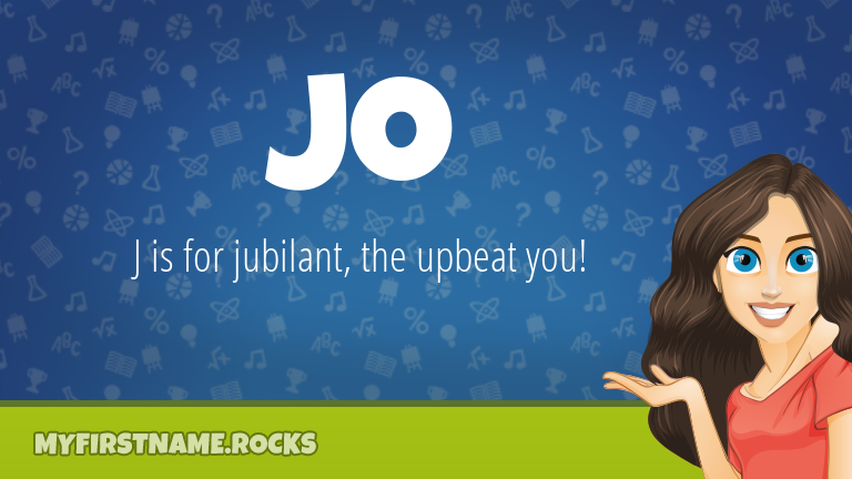 My First Name Jo Rocks!