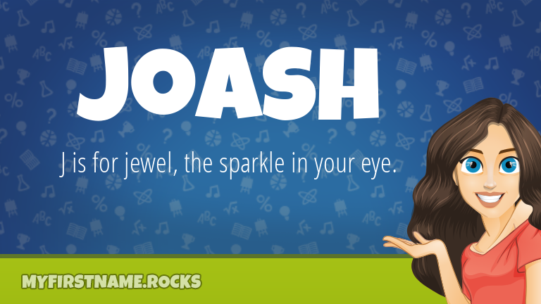 My First Name Joash Rocks!