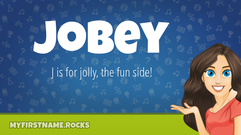 My First Name Jobey Rocks!