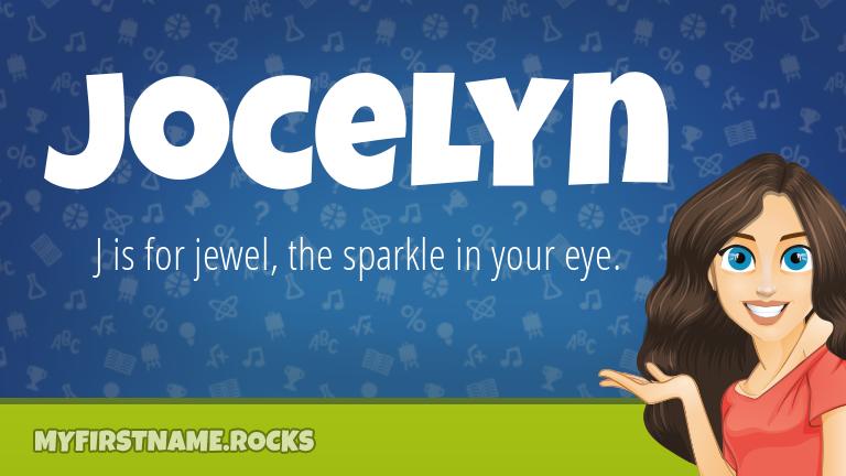 My First Name Jocelyn Rocks!