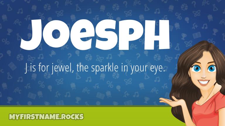 My First Name Joesph Rocks!