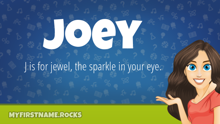 My First Name Joey Rocks!