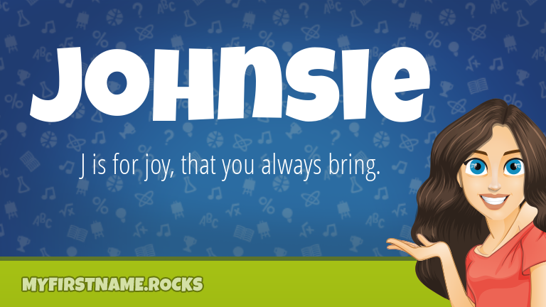 My First Name Johnsie Rocks!