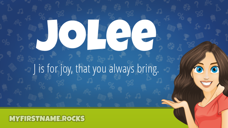 My First Name Jolee Rocks!