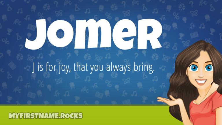 My First Name Jomer Rocks!