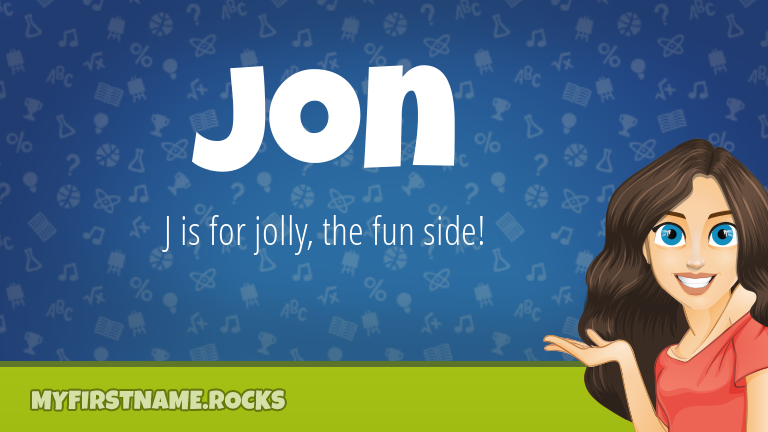 My First Name Jon Rocks!