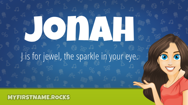 My First Name Jonah Rocks!