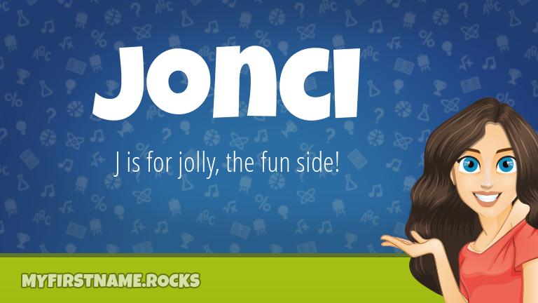 My First Name Jonci Rocks!