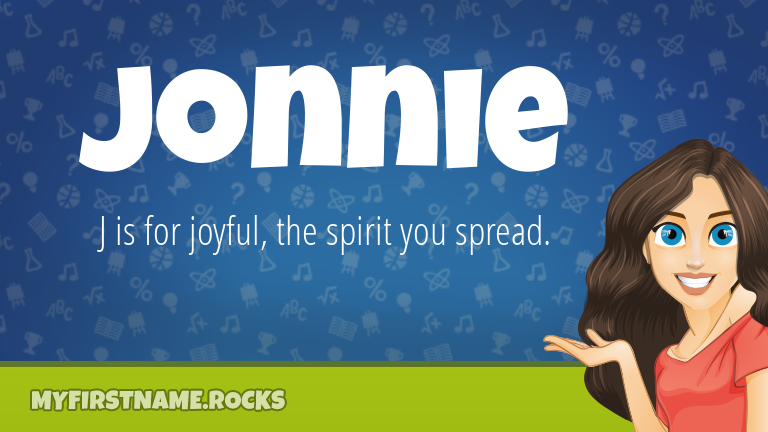 My First Name Jonnie Rocks!