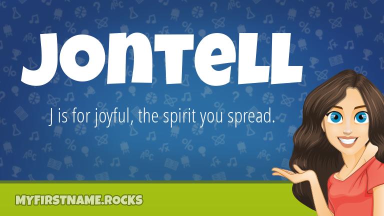My First Name Jontell Rocks!