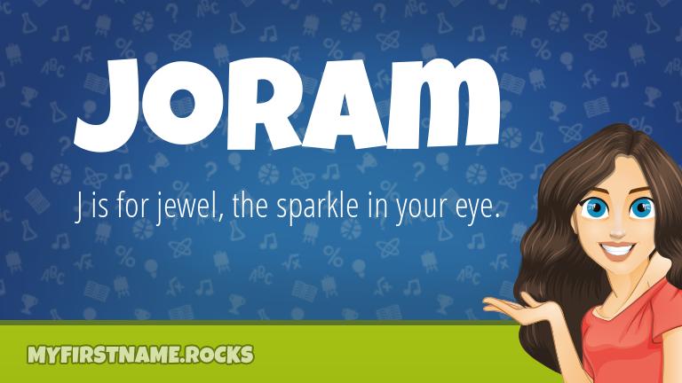 My First Name Joram Rocks!