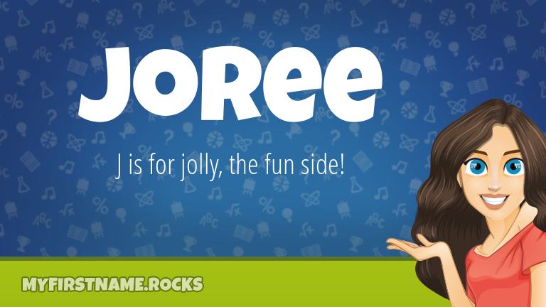 My First Name Joree Rocks!
