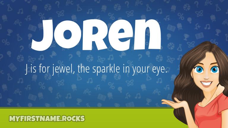 My First Name Joren Rocks!