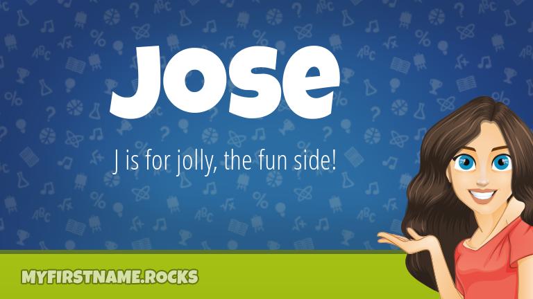 My First Name Jose Rocks!