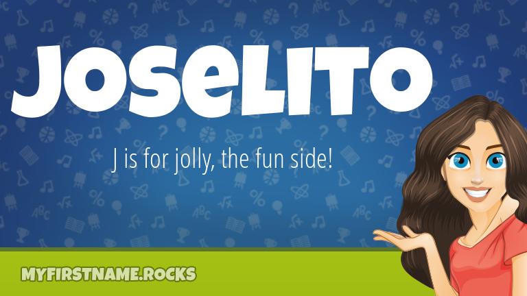 My First Name Joselito Rocks!