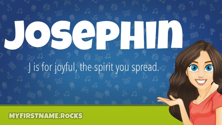 My First Name Josephin Rocks!