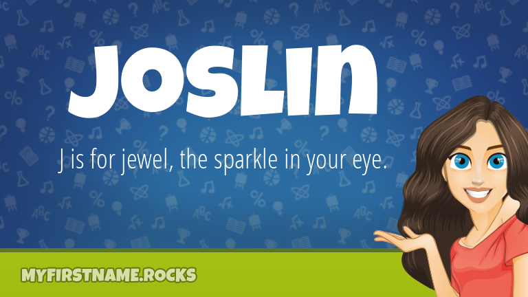 My First Name Joslin Rocks!