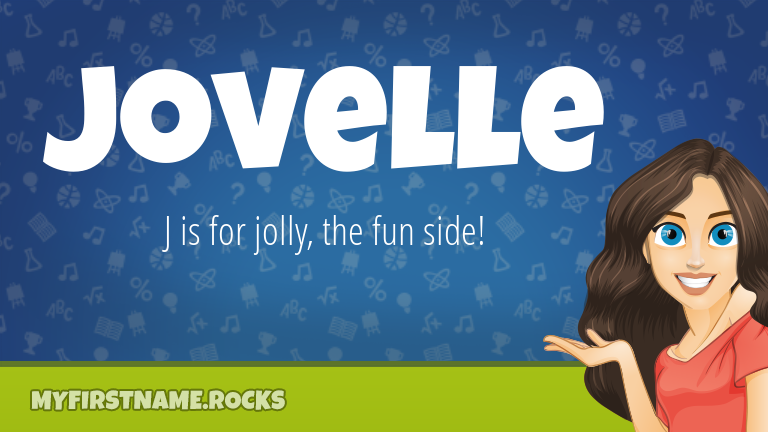 My First Name Jovelle Rocks!