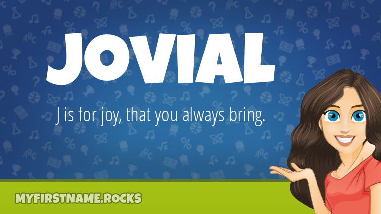 My First Name Jovial Rocks!
