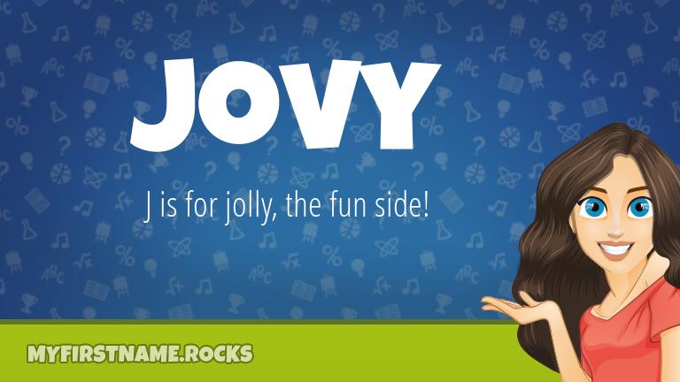 My First Name Jovy Rocks!