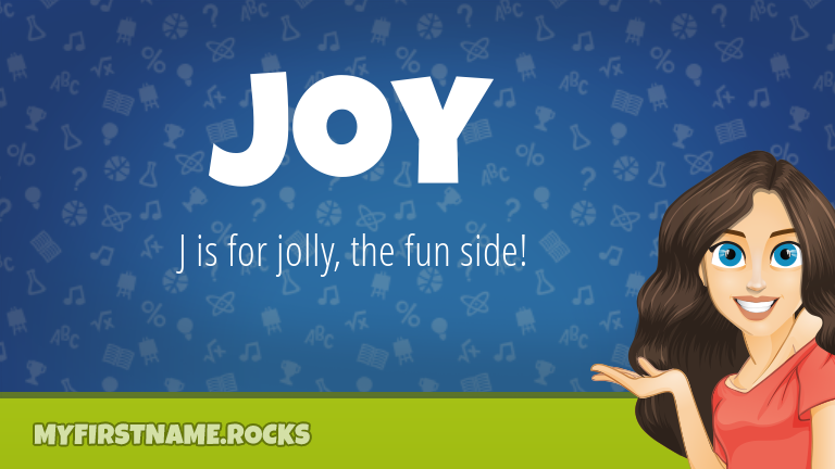 My First Name Joy Rocks!