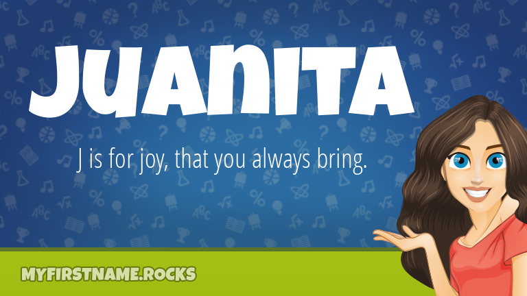 My First Name Juanita Rocks!