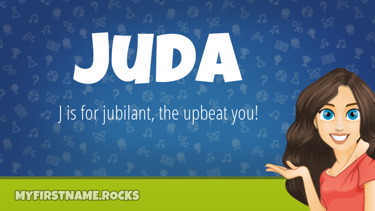 My First Name Juda Rocks!