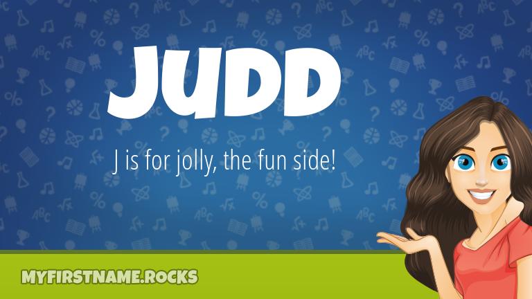 My First Name Judd Rocks!