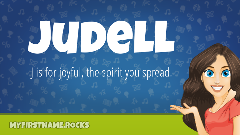 My First Name Judell Rocks!