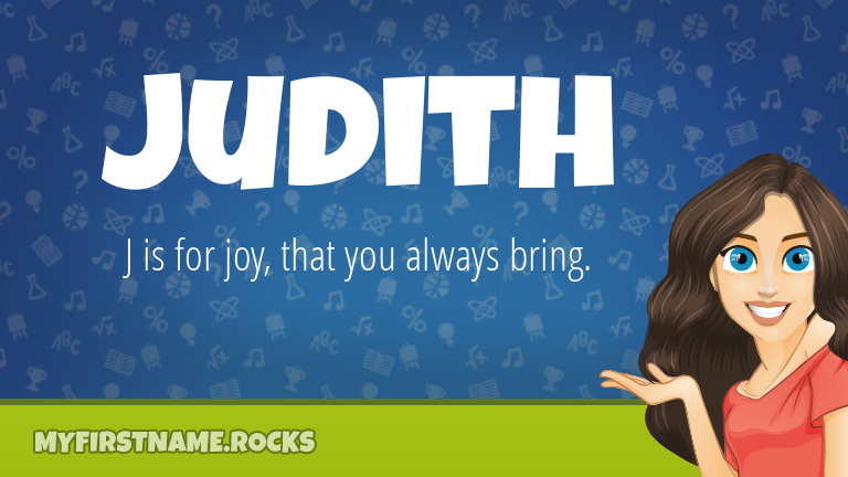 My First Name Judith Rocks!