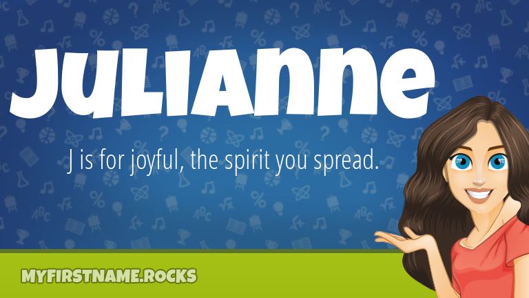 My First Name Julianne Rocks!