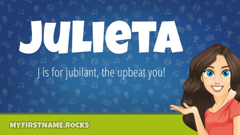 My First Name Julieta Rocks!