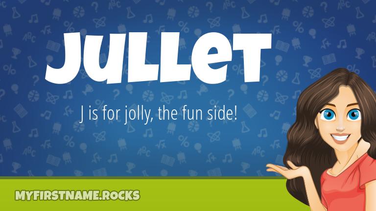 My First Name Jullet Rocks!