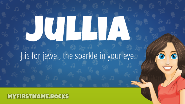 My First Name Jullia Rocks!