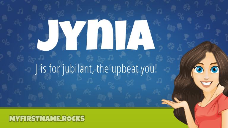 My First Name Jynia Rocks!