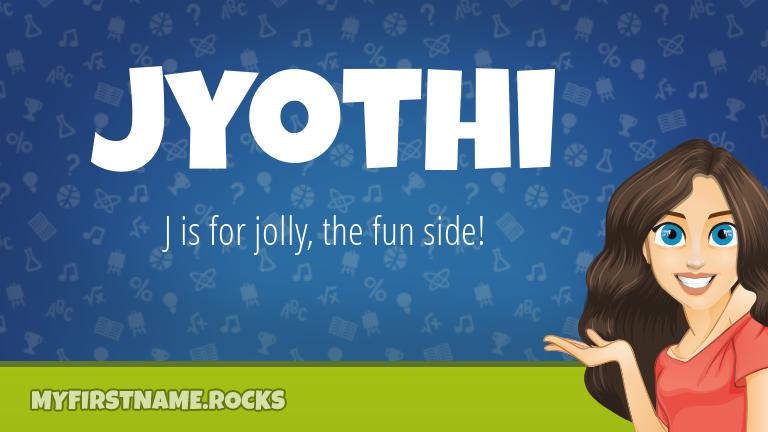 My First Name Jyothi Rocks!