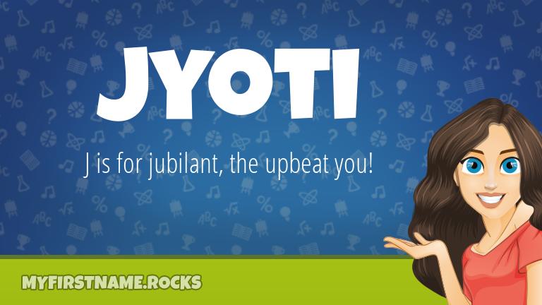 My First Name Jyoti Rocks!