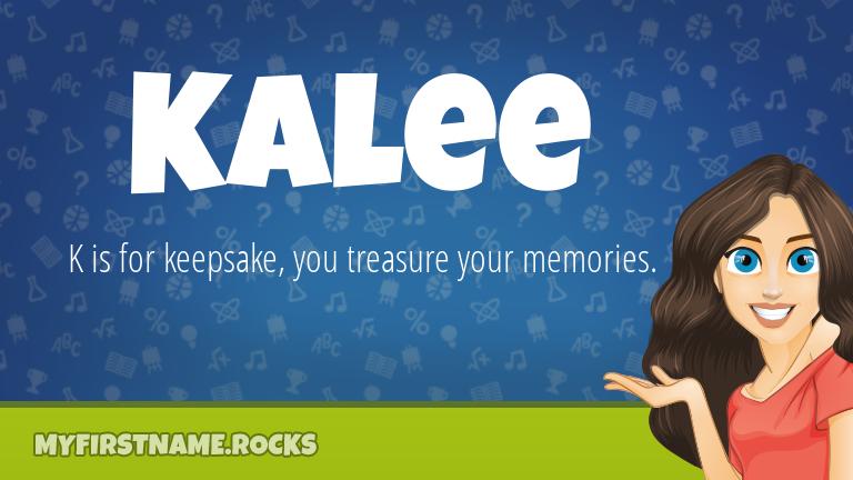 My First Name Kalee Rocks!